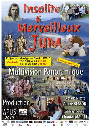 Image Multivision panoramique Insolite et Merveilleux Jura