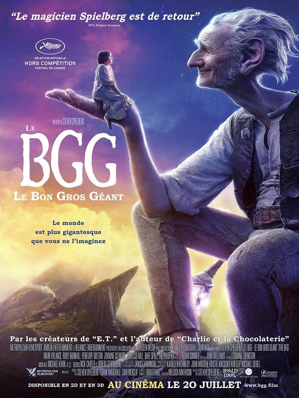 Image Projection en plein air du film : Le bon gros géant