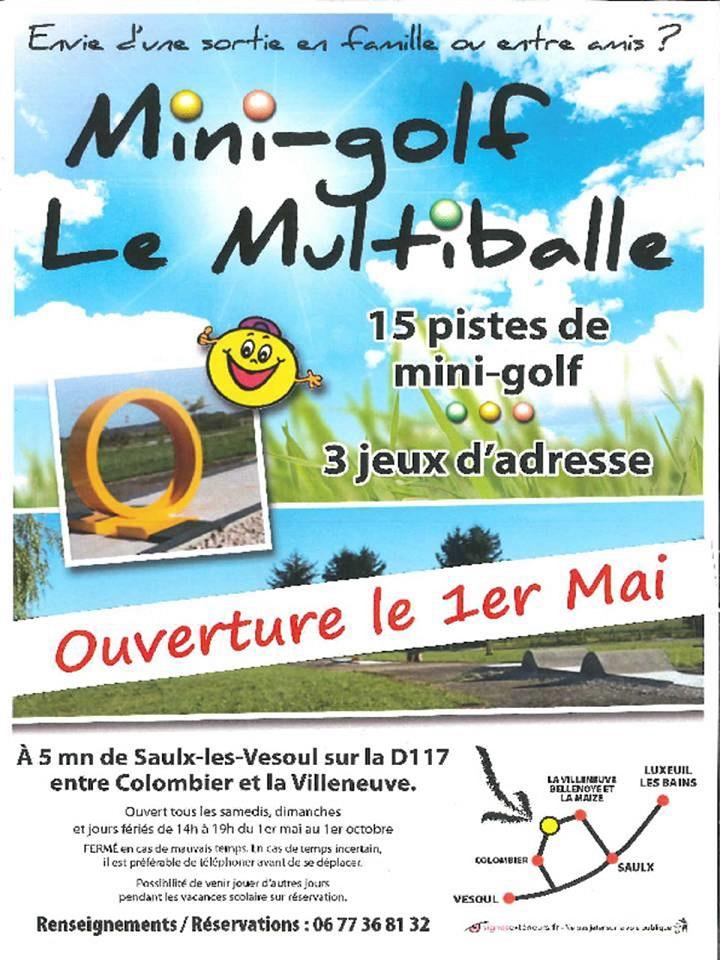 Image Minigolf Le Multiballe