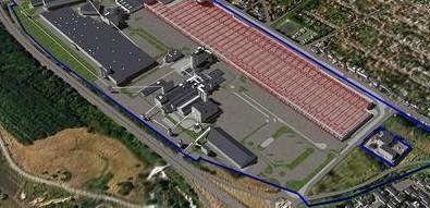 Image Visite de la plus grande usine de plâtre d'Europe