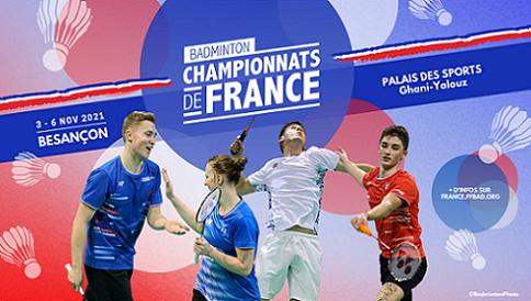 Image Championnats de France de badminton