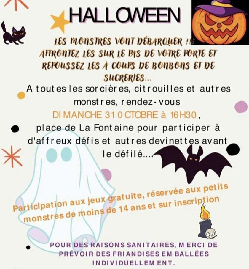 Image Jeux et défilé d'Halloween