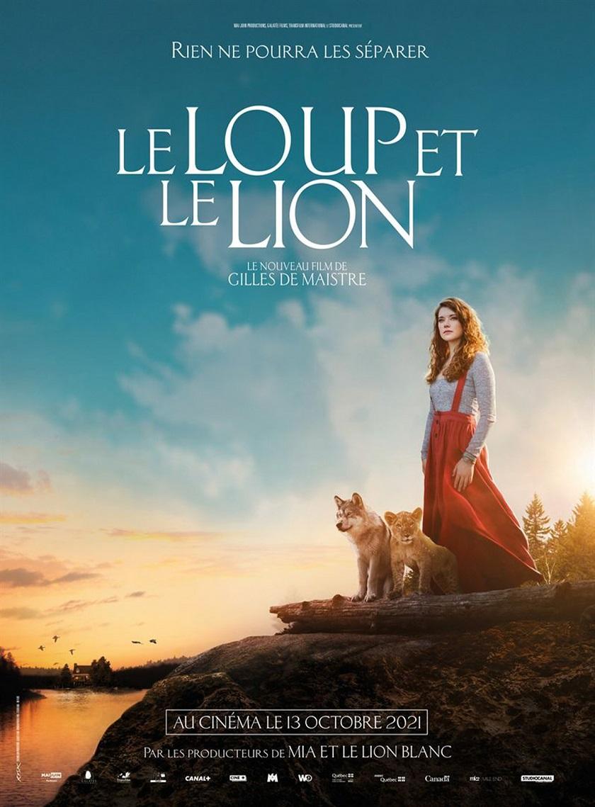 Image Projection du film Le loup et le lion