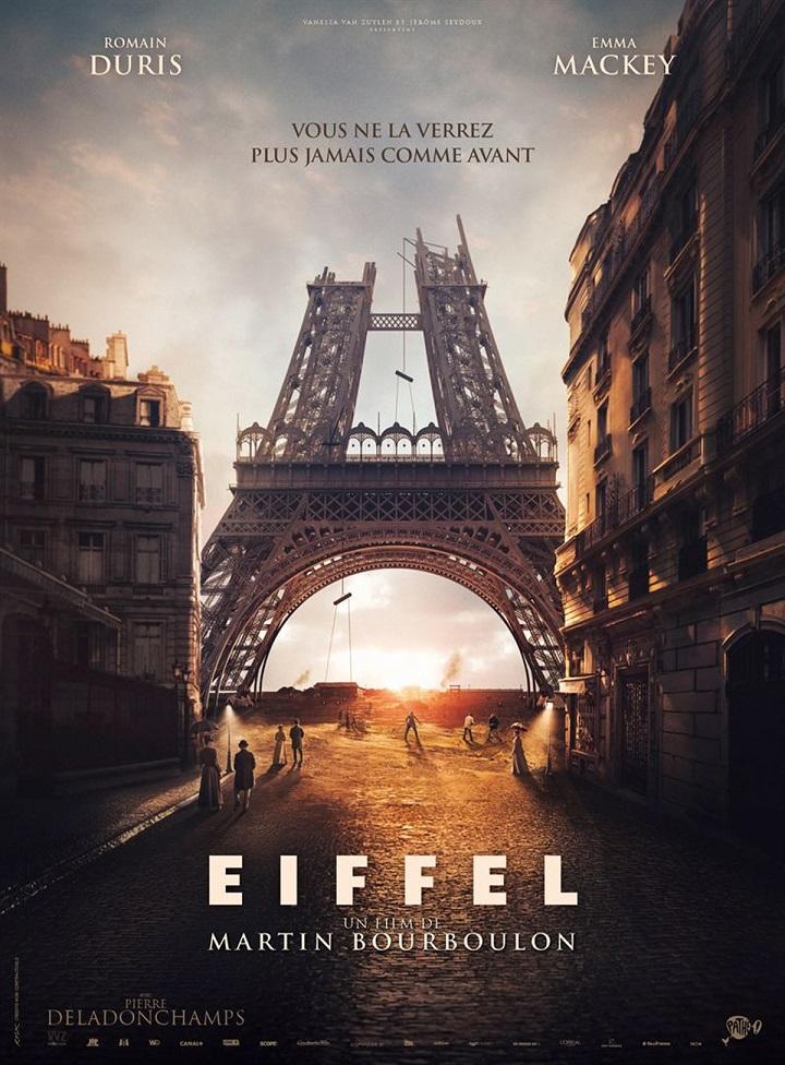 Image Projection du film Eiffel
