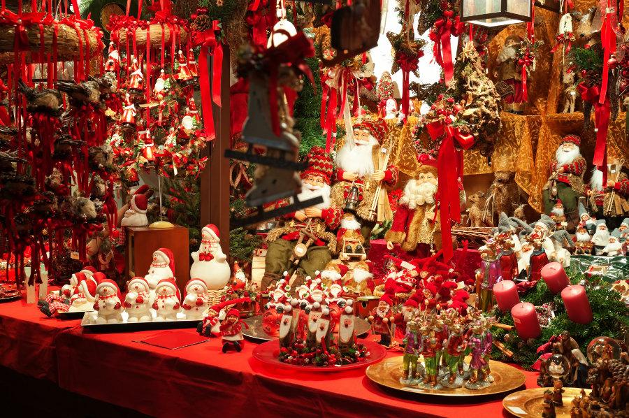 Image Marché de Noël - Jardin des Tuileries