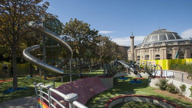 Image Jardin Nelson Mandela - terrain d'aventures pour les enfants