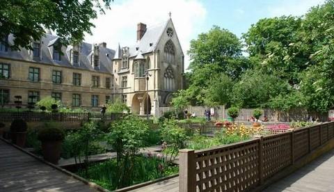 Image Jardin médiéval du square de Cluny