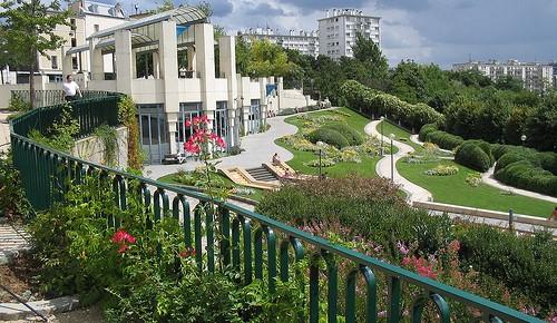 Image Parc de Belleville