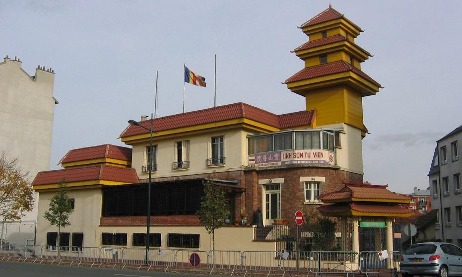 Image Monastère Bouddhique Linh Son