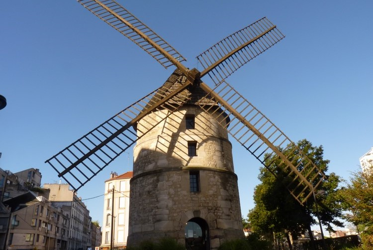 Image Moulin de la tour d'Ivry