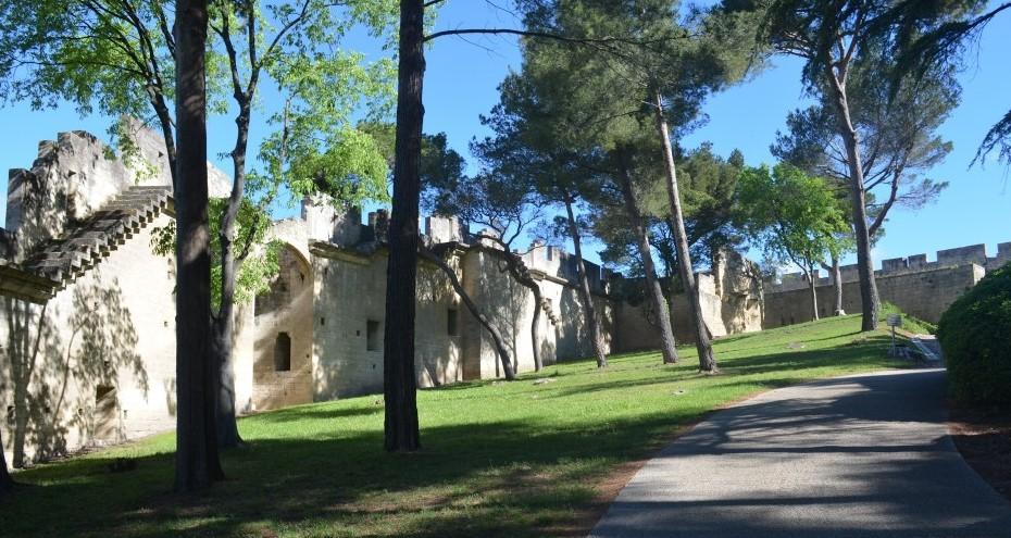 Image Jardins du Château de Beaucaire