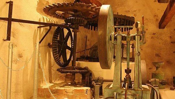 Image Ancien moulin à huile
