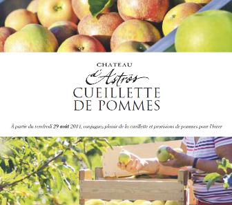 Image Cueillette de pommes du domaine d'Astros